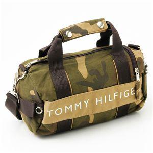 TOMMY HILFIGER(トミーヒルフィガー)マイクロミニダッフルバッグ MICRO MINI DUFFLE L200156-937 Camo