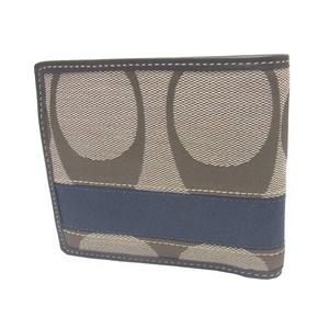 COACH(コーチ)シグネチャー二つ折り財布 F74246 KH/DE