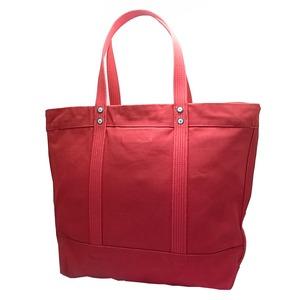 POLO RALPH LAUREN(ポロラルフローレン) キャンバス トートバッグ BIG PONY 4QJ PARK AVENUE RED