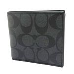 COACH (コーチ) 二つ折り財布 F75006 CQ/BK