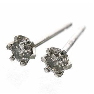 Pt900 0.1ctダイヤモンドピアス プラチナ 136798