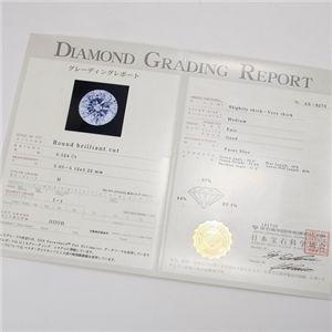 プラチナPt0.5ct ダイヤモンドヴェネチアンペンダント/ネックレス(鑑定書付き)