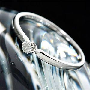 K18ダイヤリング 指輪 9号 - 拡大画像