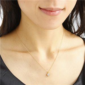 K18YG インビジブルセッティングダイヤ ネックレス h03