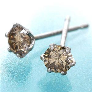 PT0.3ctダイヤモンドピアス プラチナ