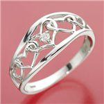 ダイヤリング 指輪 アンティーク調リング 19号