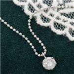 プラチナPT0.3ct ダイヤモンドペンダント/ネックレスの画像