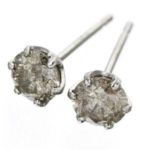 PT0.5ctダイヤモンドピアス プラチナ