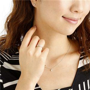きれいなダイヤモンド 合計0.35ctジュエリー福袋 (ペンダント ピアス 7号リング セット)