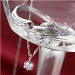 きれいなダイヤモンド 合計0.35ctジュエリー福袋 (ペンダント ピアス 17号リング セット)