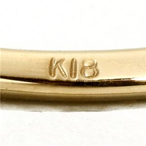 K18/twelveカラージュエルリング ブルートパーズ11号 h02