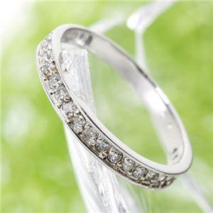 0.2ct ダイヤリング 指輪 エタニティリング 13号 h02