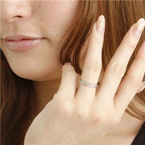 0.2ct ダイヤリング 指輪 エタニティリング 19号 h03