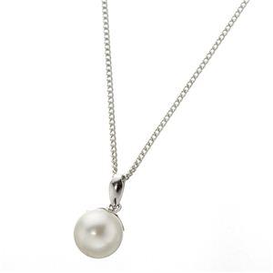 あこや真珠使用 パールネックレス & パールイヤリング & パールペンダント 3点セット ピンクトルマリンのペンダント付き f04