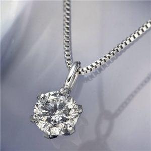 プラチナ0.1ctダイヤモンドペンダント