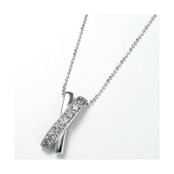 ダイヤモンド10石 合計0.1ct フルエタニティペンダント画像1