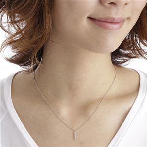 3ストーンダイヤモンドペンダント/ネックレス