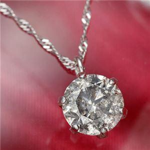 純プラチナ0.7ctダイヤモンドペンダント/ネックレス(鑑別カード付き)