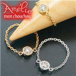 Amelie Monchouchou【タルトシリーズ】リング ホワイトゴールド(WG) 6号 指輪