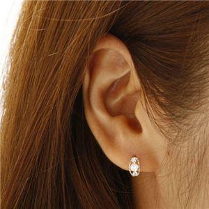 PTローブダイヤモンドピアス プラチナ h03