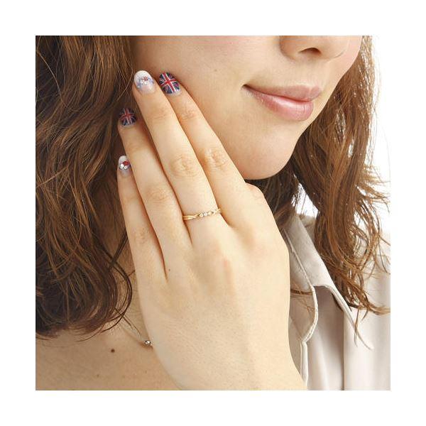 K18ダイヤモンドデザインリング