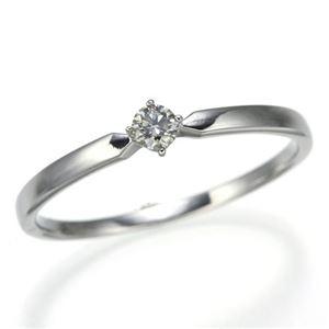 K18WGダイヤリング 指輪 21号 h02