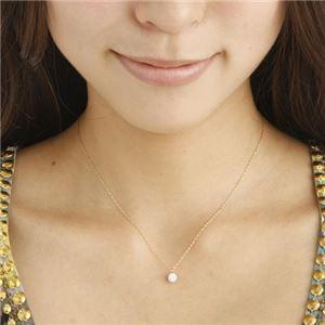 K18/0.5ctダイヤモンドペンダント K18PG