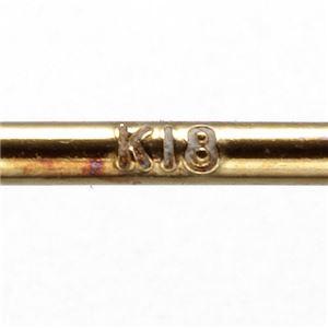 K18パールピアス