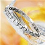 プラチナPt900  0.5ctダイヤリング 指輪エタニティリング 13号