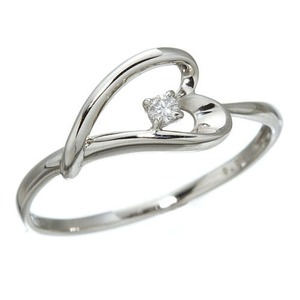 プラチナダイヤモンドデザインリング3型 ウェビ...の関連商品6