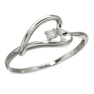 プラチナダイヤモンドデザインリング3型 ウェビ...の関連商品7