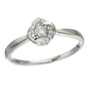 プラチナダイヤモンドデザインリング3型 カレイ...の関連商品8