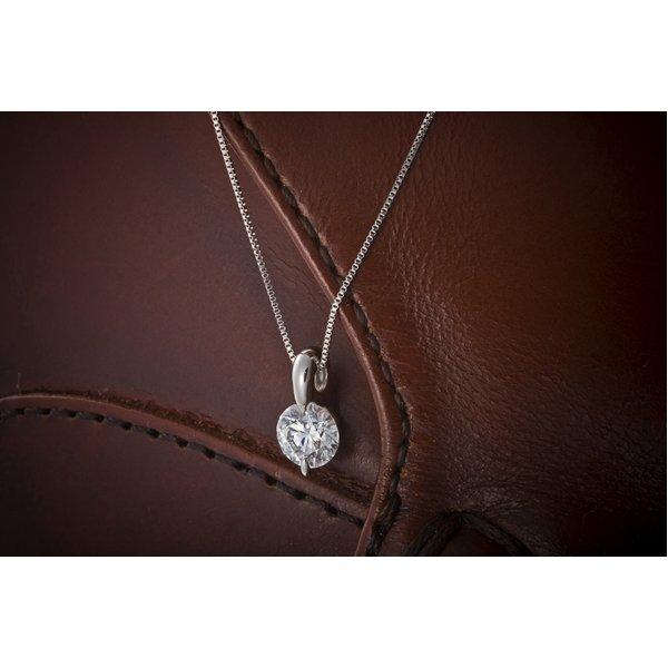 Dカラー IFクラス EXカット0.5ctダイヤモンドペンダント/ネックレス(GIA鑑定書付き)のポイント4