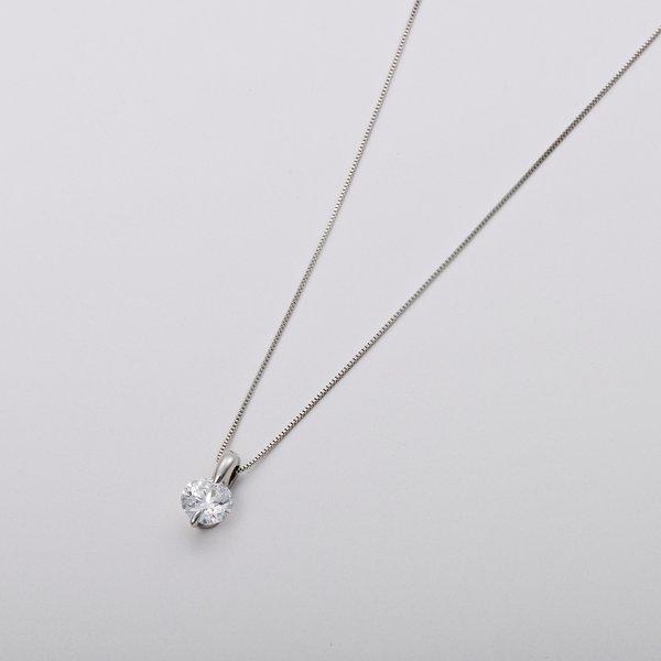 Dカラー IFクラス EXカット0.5ctダイヤモンドペンダント/ネックレス(GIA鑑定書付き)のポイント1