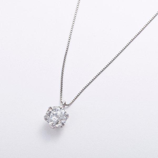 プラチナPT999 0.5ctダイヤモンドペンダント/ネックレス (鑑別書付き)2