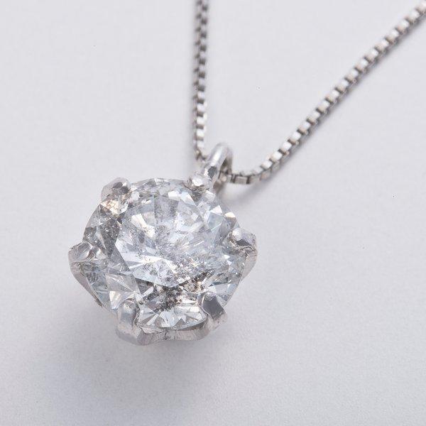 プラチナPT999 0.5ctダイヤモンドペンダント/ネックレス (鑑別書付き)3