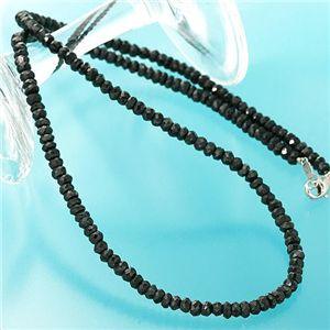 ブラックスピネル ネックレス h01