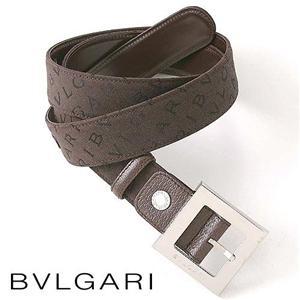 BVLGARI ロゴマニアキャンバスベルト 22791
