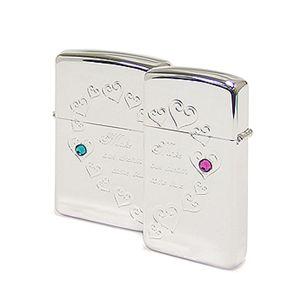 ZIPPO(ジッポー) ライター (2個セット)BS-ZIP-A0041 Silver