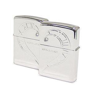 ZIPPO(ジッポー) ライター (2個セット)BS-ZIP-A0050 Silver