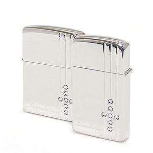 ZIPPO(ジッポー) ライター (2個セット)BS-ZIP-A0064 Silver