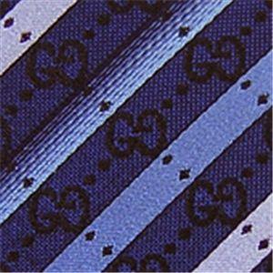 GUCCI(グッチ) シルクネクタイ 2010 春夏 Blue N-GUC-A01520画像2
