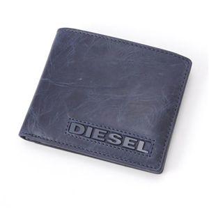 DIESEL(ディーゼル) 札入れ 両面カード入れ T6067NAVYH 9.8×W11.5×D1.5cm