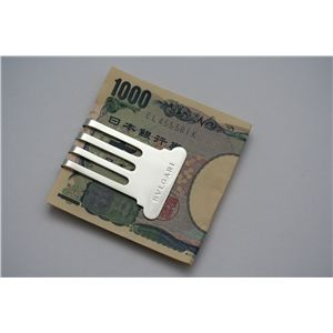 【無料ラッピング付き】BVLGARI(ブルガリ) PS001601  Money Clip マネークリップ