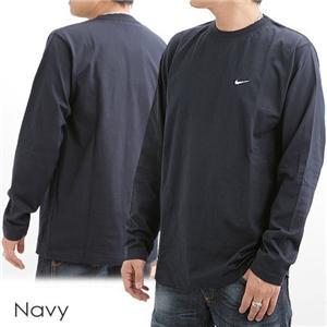 NIKE ロングスリーブTシャツ 115470 ネイビー 【Lサイズ】の写真1