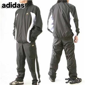 adidas ウインド上下セット510536 ブラック M