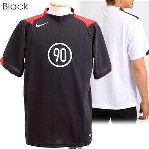 NIKE(ナイキ) トータル90 DRI-FIT サッカーTシャツ 106305 ブラック L