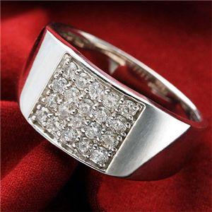 ダイヤモンド合計0.5ctパヴェリング FMR-TM00048 17号