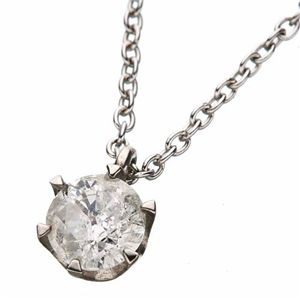 ダイヤモンド0.45ct1粒石ペンダントの写真2