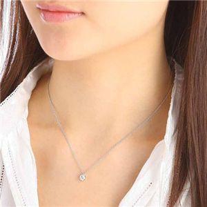 ダイヤモンド0.45ct1粒石ペンダントの写真3